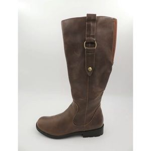 Life Stride Soft System Brown Riding Boots 7.5